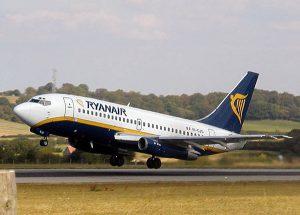 Ryanair in Calabria