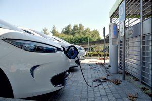 Auto elettrica non inquinante